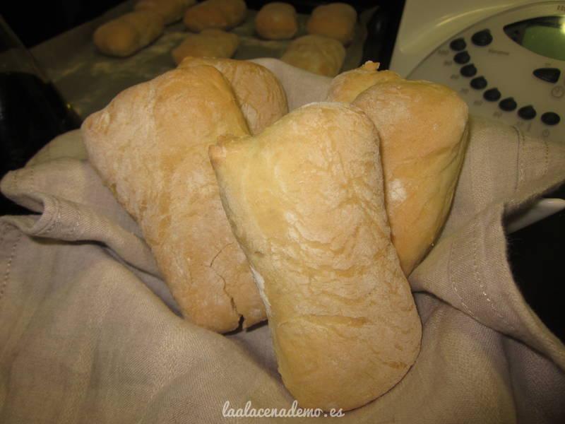 Pan de aceite o Pan chapata con Thermomix