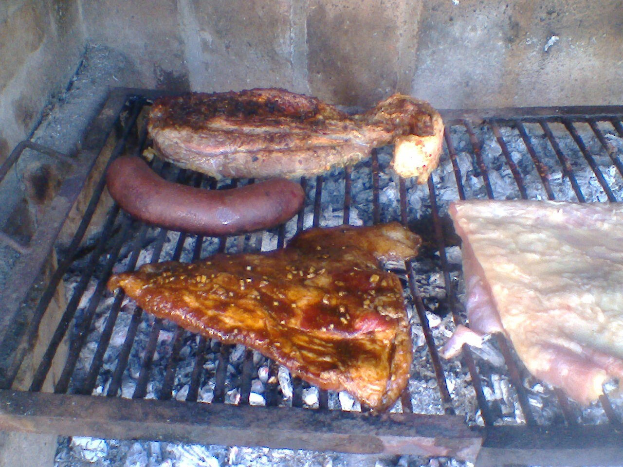 Matambre de cerdo laqueado a las cinco especias