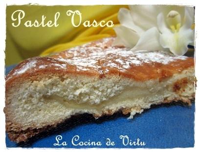 Pastel Vasco (thermomix)