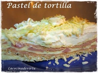 Pastel Tortilla