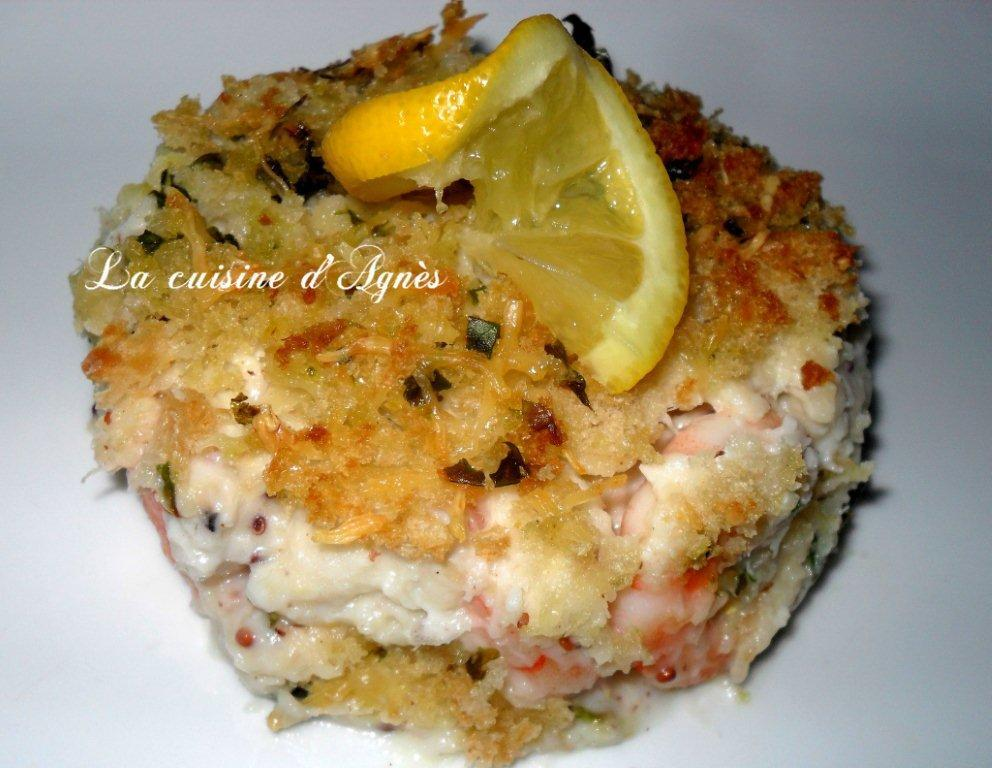 gratin de fruits de mer sauce Mornay