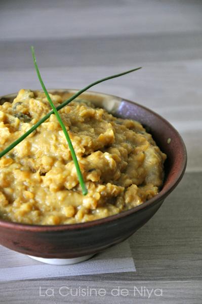 (Mon) Curry de lentilles corail ou dhal [vegan]