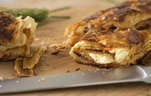 Salmão defumado com Cream Cheese