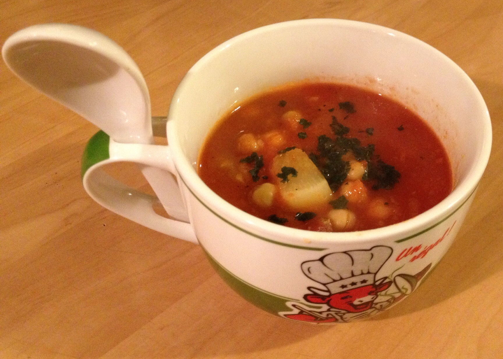 Soupe de Tomate à l'Orientale