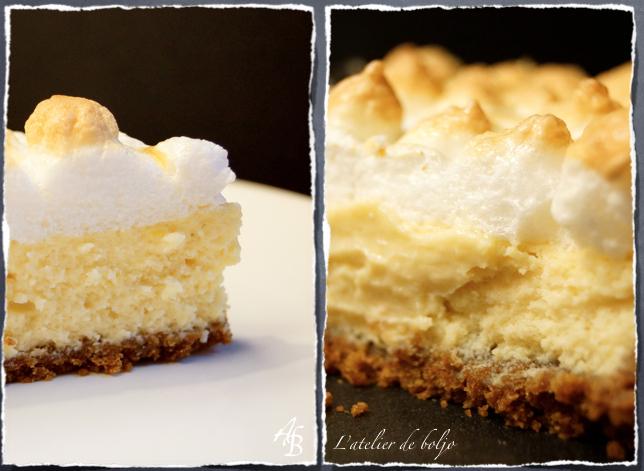Key lime pie, façon Dexter ou tarte au citron meringuée