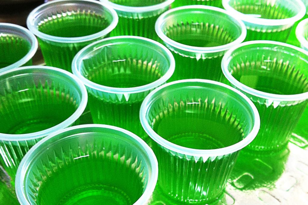 Semana da culinária mexicana: Jelly Shot