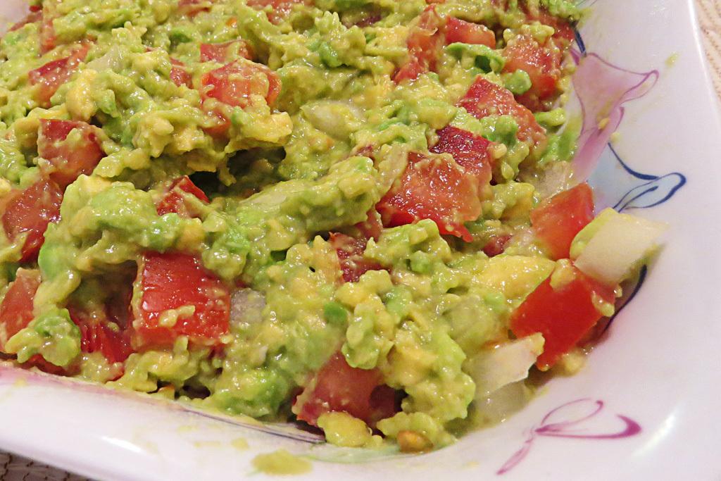 Semana da culinária mexicana: Guacamole
