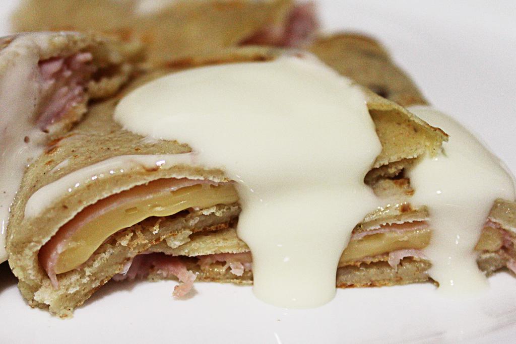 Rapidinhas do Lazz Gourmet: Crepe Integral de Peito de Peru