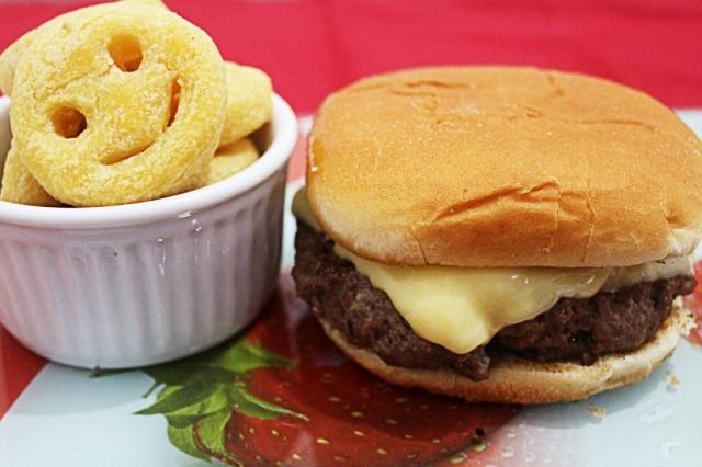 de hamburguer de carne moida caseiro