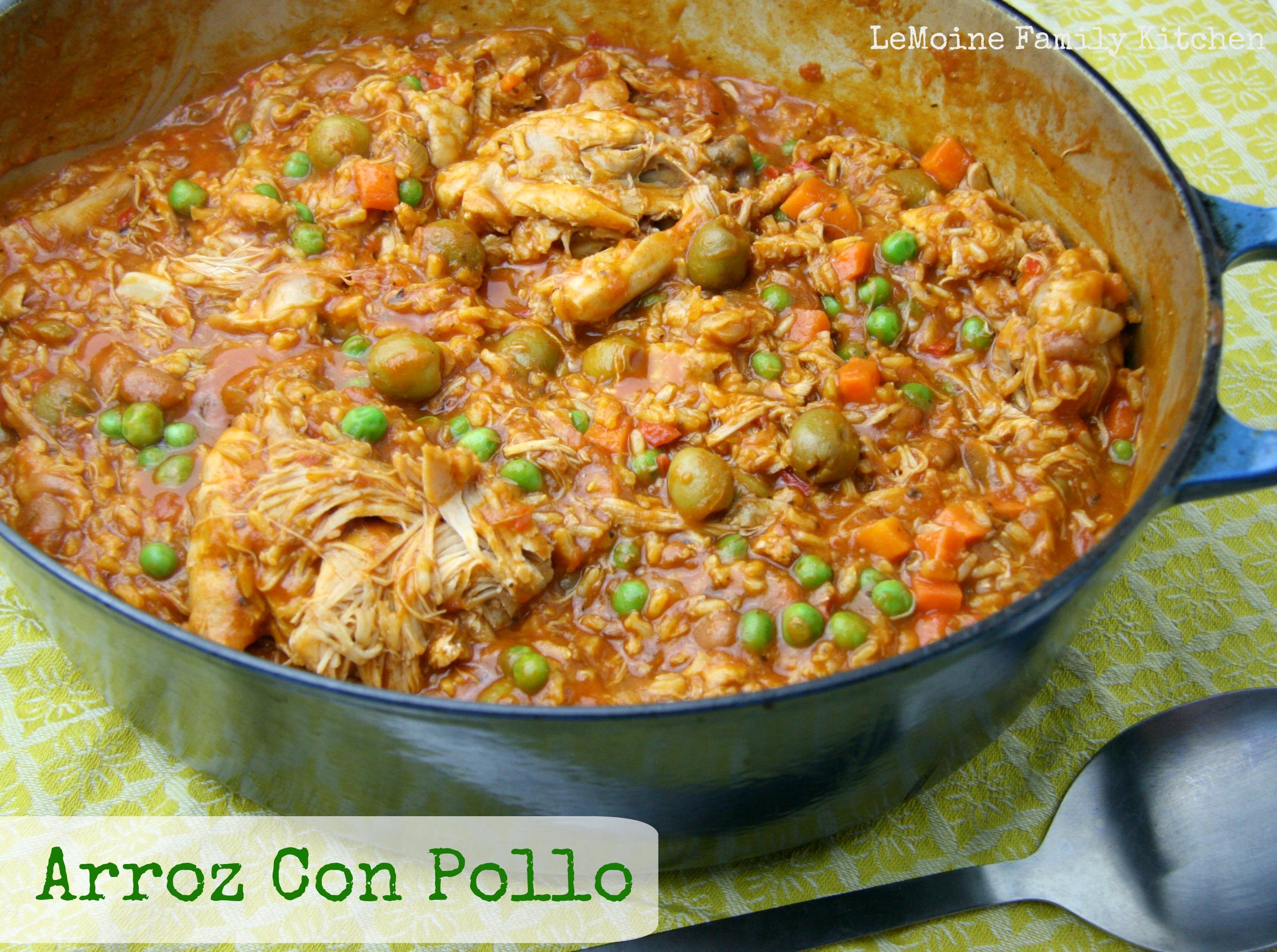 Arroz Con Pollo {Chicken & Rice}