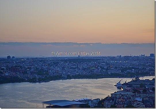 Restaurantes na alturas em Istambul