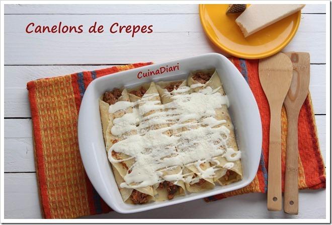 CANELONS DE CREPES