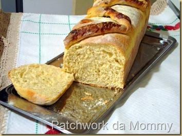 Pão de milho com ervas