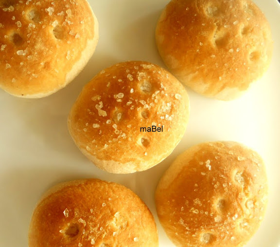 Salaillas y jallullas - saladillas - pan de aceite y sal
