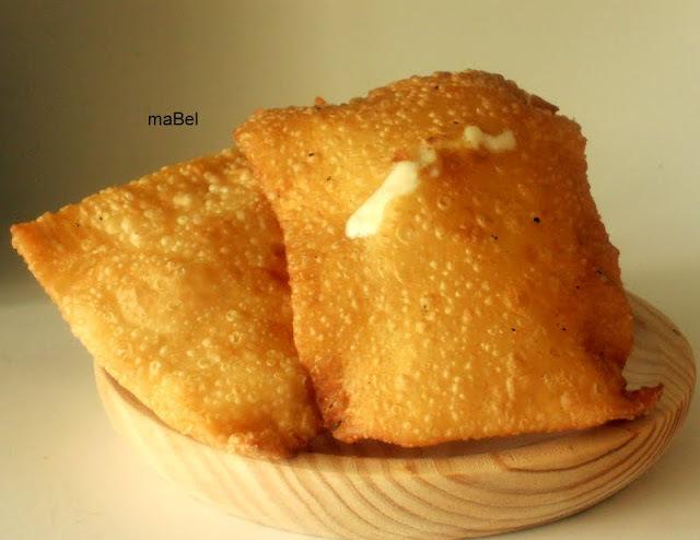 Pasteis de feria - Pasteles fritos de queso