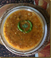 Tomato Pappu–Andhra Style