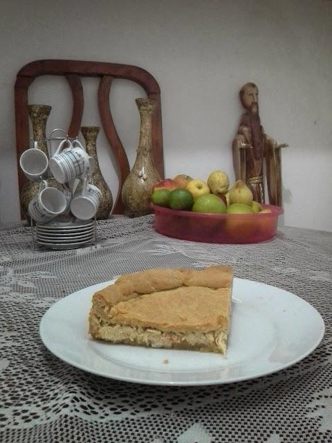 Torta de frango da Rita Lobo