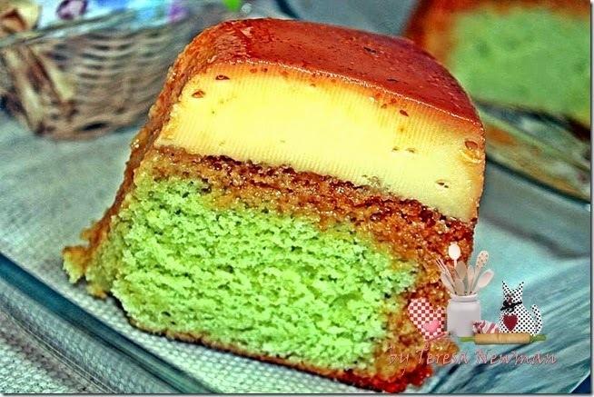 da para fazer bolo de pudim com forma media de bolo