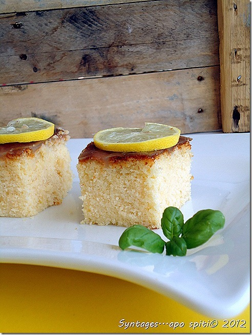 Υπέρ-αφράτο κέικ λεμονιού