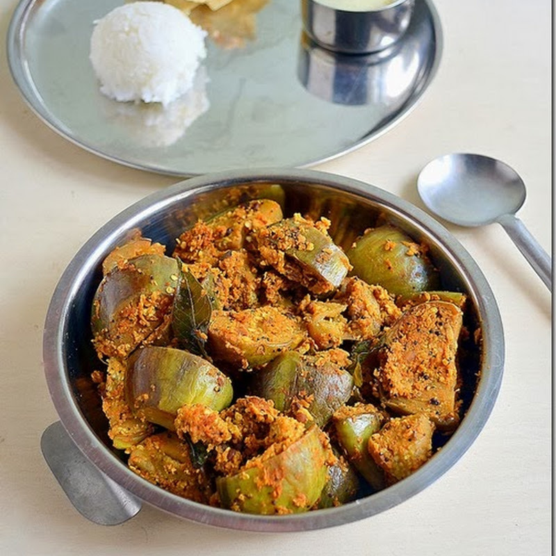 BRINJAL CURRY|KATHIRIKAI PORIYAL– PORIYAL RECIPES