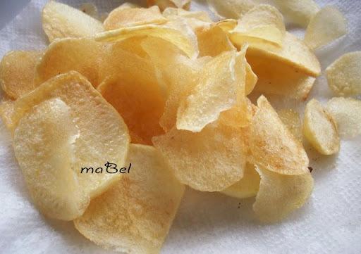 Patatas fritas como las compradas (chips)