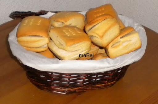 Galletas hojaldradas de grasa o manteca