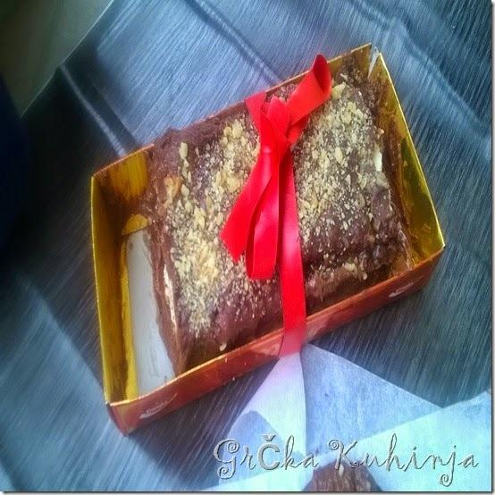 lak čokoladni kolač sa petit keksom