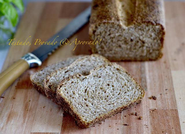 FERMENTAÇÃO NATURAL - Pão 100% Integral