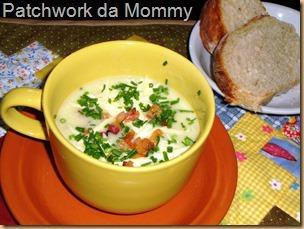 sopa de macarrão com legumes simples