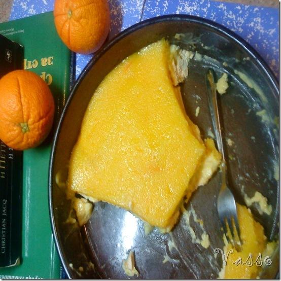 Brzi kolač sa petit keksom i narandžom