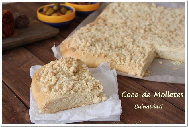 COCA DE MOLLETES