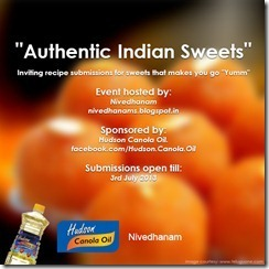 Giveaway @ Nivedhanams