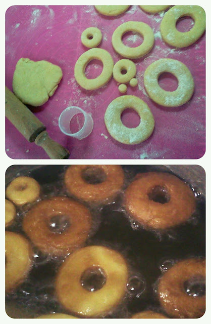 Rosquitas tipo donuts