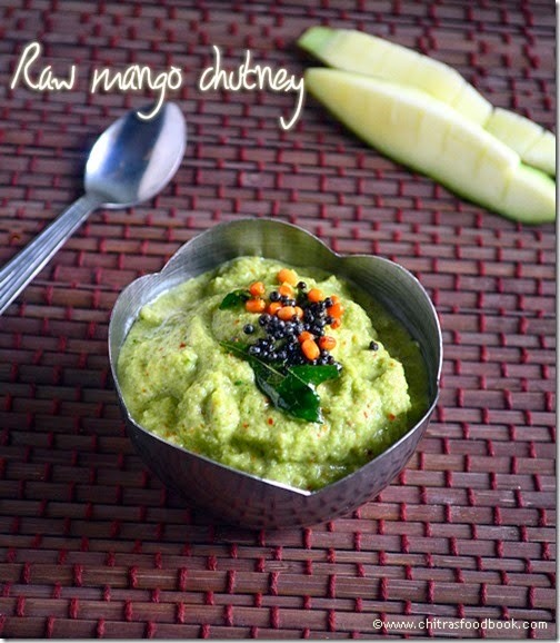 RAW MANGO CHUTNEY RECIPE–RAW MANGO RECIPES