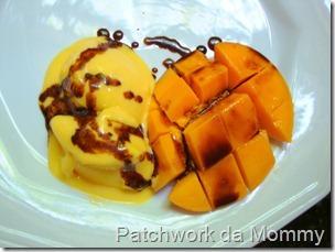 sorvete caseiro de frutas naturais