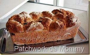 pão com farinha integral para máquina do pão