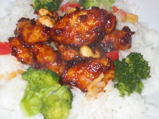 Salteado de pollo oriental Tipo Vip's