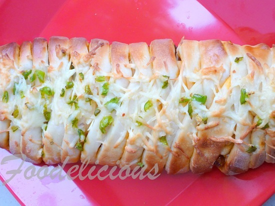 Pizza Style Braided Bread