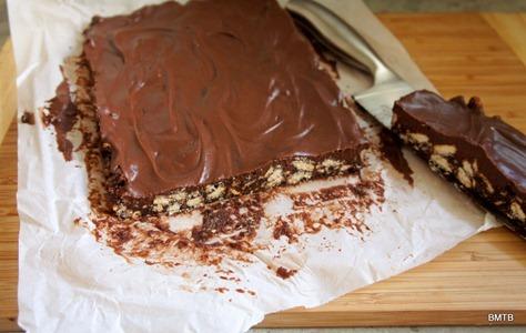 Chocolate Fudge Biscuit Slice