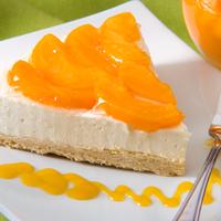 Cheesecake De Durazno.