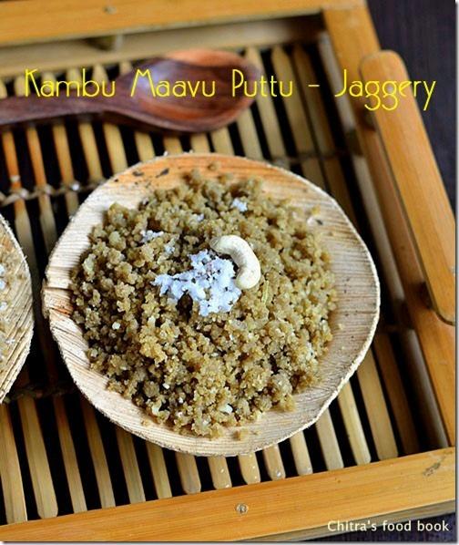 Kambu Maavu Puttu Recipe-Pearl Millet Recipes