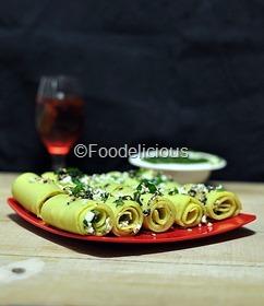 मिश्र दालों की स्टफ़्ड खाण्डवी | Reena's  Stuffed-Mixed Lentils Khandvi & PaperBoat Drinks At a Glance | Step Wise