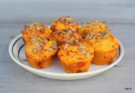 Kumara and Bacon Mini Muffins