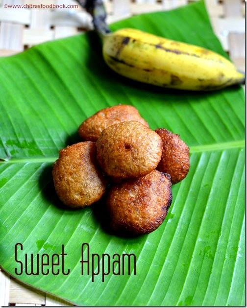 SWEET APPAM RECIPE USING WHEAT FLOUR