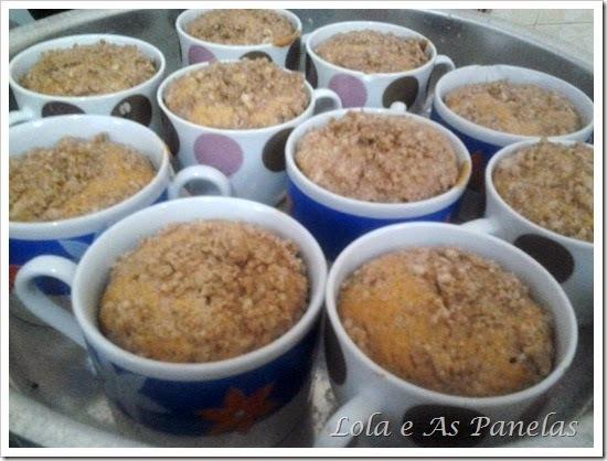 Muffins de Banana.