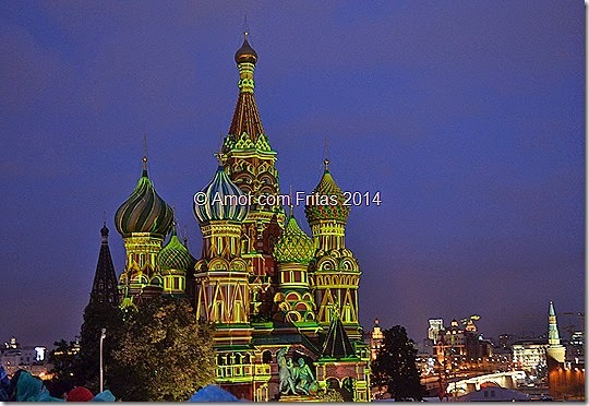 Diário de Viagem : Moscou