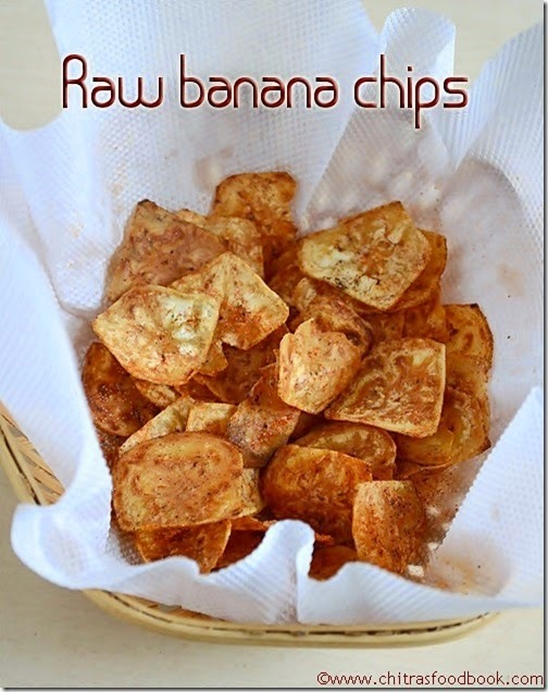 VAZHAKKAI CHIPS/RAW BANANA CHIPS RECIPE-HOMEMADE