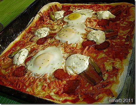 Tijesto za pizzu-slavonska pizza/Pizza dough- pizza Slavonia