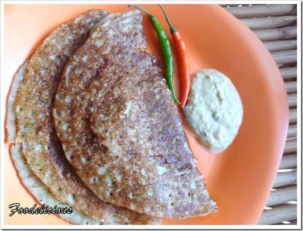 Instant Bread Dosa… preparation in a jiffy