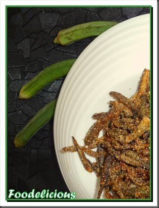 Crispy Okra With Caramelized Onions